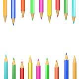 Crayons Decoration Royalty Free Stock Photo