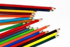 Crayons en bois image libre de droits