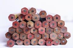 Crayons en bois Image stock