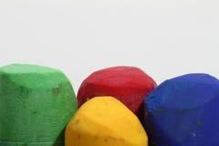 Crayons en pastel Photographie stock libre de droits