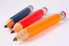 Crayons enormes Photo libre de droits