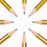 Crayons ensemble Photographie stock libre de droits
