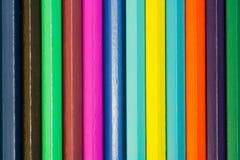 Crayons. Fond. Photographie stock libre de droits