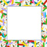 Crayons Frame Royalty Free Stock Photography