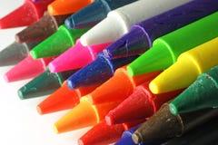 crayons generiskt Arkivbild