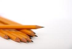Crayons gris de couleur réglés images libres de droits