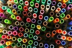 Crayons lecteurs Photos libres de droits