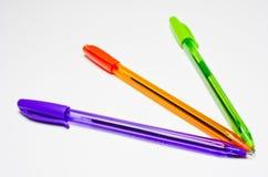 Crayons lecteurs. Images stock