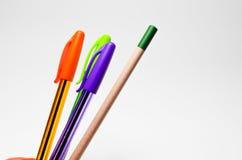 Crayons lecteurs. Photo libre de droits