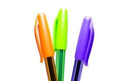 Crayons lecteurs. Photographie stock
