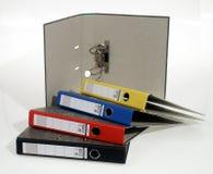 Crayons lecteurs, broche, broches, école, secrétaire Photos stock