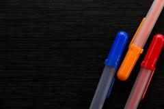 Crayons lecteurs colorés Photo libre de droits