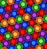 Crayons lecteurs colorés de barre de mise en valeur Photographie stock libre de droits