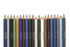 Crayons lecteurs d'Eyeliner Images libres de droits