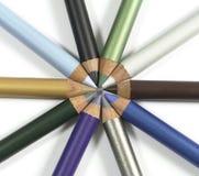 Crayons lecteurs d'Eyeliner Photographie stock libre de droits