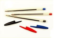 Crayons lecteurs de bureau Photos libres de droits