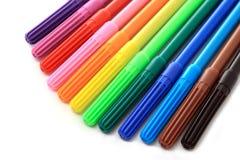 crayons lecteurs de coloration Images stock