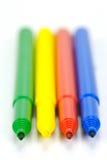 crayons lecteurs de connecteur Photos libres de droits