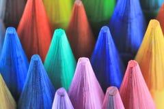 Crayons lecteurs de couleur Images libres de droits