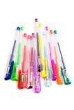 crayons lecteurs de couleur de pointe Photo stock