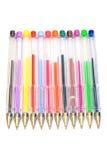 crayons lecteurs de couleur de pointe Photographie stock libre de droits