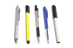 Crayons lecteurs de pointe et de repère Photo stock
