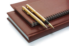 Crayons lecteurs et livres Image stock