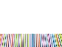 Crayons lecteurs multicolores Images libres de droits