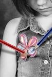 Crayons magiques Photos libres de droits