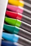 Crayons neufs Photos libres de droits