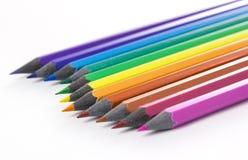 Crayons olored par ¡ de Ð Image libre de droits
