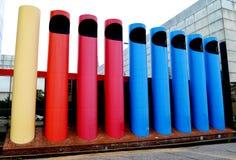 Crayons ou tuyaux d'organe photo libre de droits
