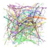 Crayons psychédéliques Images stock