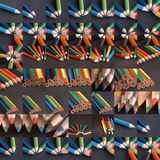 crayons raster Royaltyfri Foto