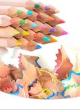 Crayons and shavings Stock Image
