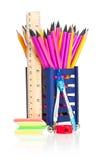 Crayons simples Photos libres de droits