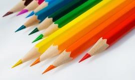 crayons slopping стоковые изображения rf