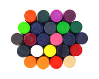 Crayons Small Close View Stock Photography