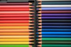 Crayons tous neufs de couleur Photo stock