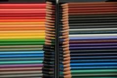 Crayons tous neufs de couleur Photographie stock