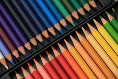 Crayons tous neufs de couleur Photos libres de droits