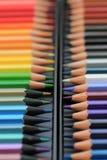 Crayons tous neufs de couleur Photographie stock libre de droits