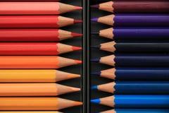 Crayons tous neufs de couleur Photo libre de droits