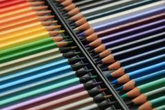 Crayons tous neufs de couleur Image libre de droits