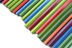 Crayons Unsharpened Photos libres de droits