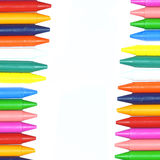 Crayons wax Royalty Free Stock Images