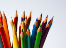 Crayons2 Fotografia de Stock Royalty Free