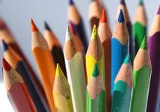 crayons3 Arkivfoton