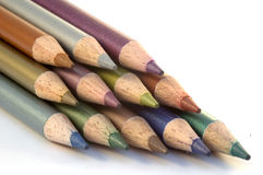 crayonsblyertspenna Arkivbild