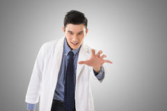 Crazy Asian doctor Stock Images
